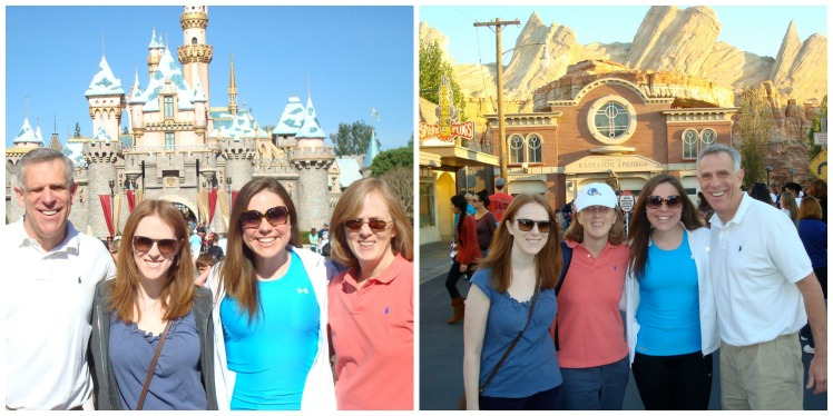 Disneyland Collage