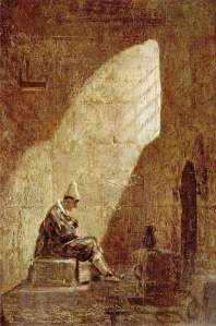 Ash Wednesday (Carl Spitzweg)