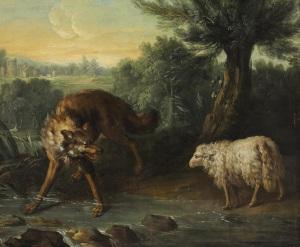 Jean-Baptiste_Oudry_-_Le_loup_et_l'agneau