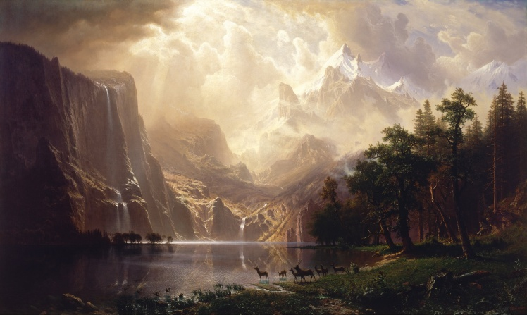 Albert_Bierstadt_-_Among_the_Sierra_Nevada,_California_-_Google_Art_Project