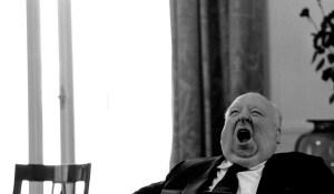 Hitchcock-Yawning