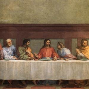 Andrea_del_Sarto_-_The_Last_Supper_(detail)_-_WGA00391