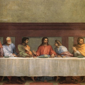 Andrea_del_Sarto_-_The_Last_Supper_(detail)_-_WGA00391