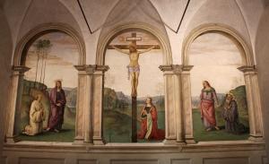 Perugino,_crocifissione_con_la_maddalena,_la_madonna,_s._giovanni_e_i_ss._bernardo_e_benedetto,_1493-96,_01