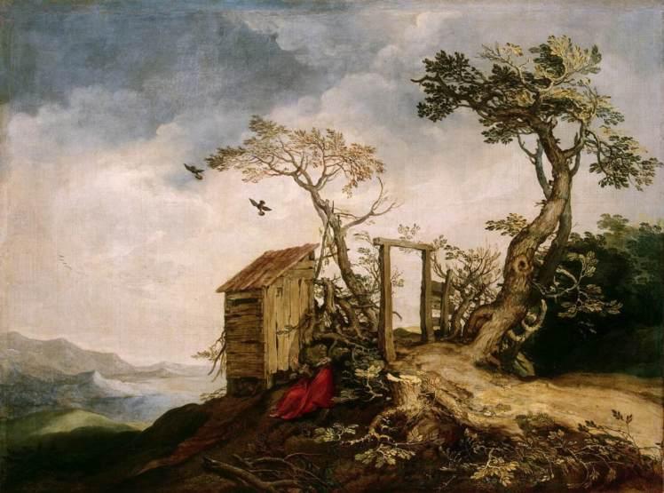 Abraham_Bloemaert_-_Landscape_with_the_Prophet_Elijah_in_the_Desert_-_WGA2277