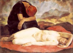 Korb,_Erzsébet_-_Pieta_(ca_1923)