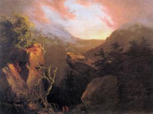 Cole_Thomas_Mountain_Sunrise_Catskill_1826