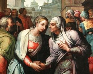 Jacopo_Coppi_detto_'del_Meglio__La_Visitazione,_Olio_su_tavola_177_x_141._Galleria_Romigioli_antichità2