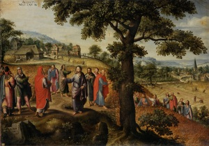 Marten_van_Valckenborch_-_Christ_defends_the_plucking_of_the_ears_of_grain_on_the_Sabbath_(August)