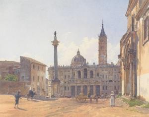 Rudolf_von_Alt_-_Die_Basilika_Santa_Maria_Maggiore_in_Rom_-_1837